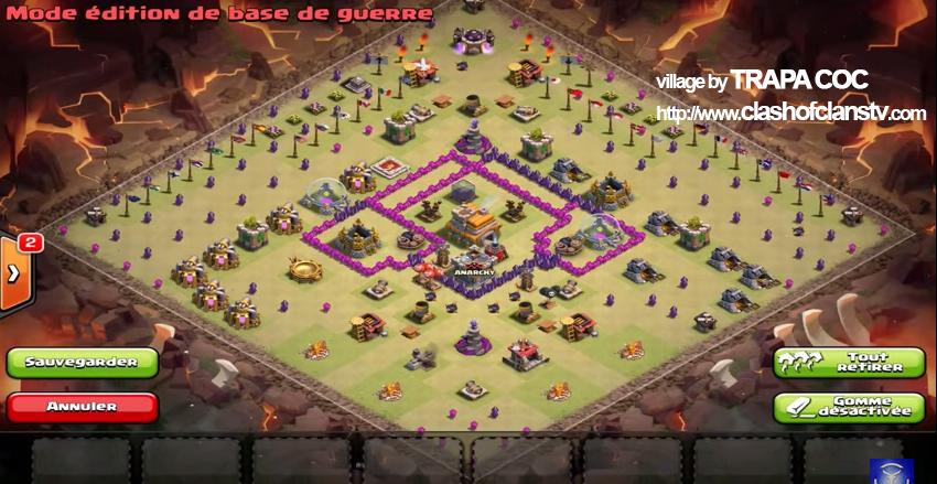 village guerre de clan hdv 7