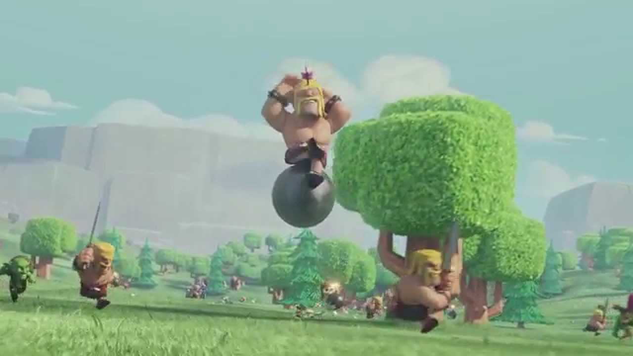 Trailer Officiel Le Vol Du Barbare Clash Of Clans Tv
